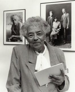 Esther Bruce, by Sandra Knight - NPG x133031