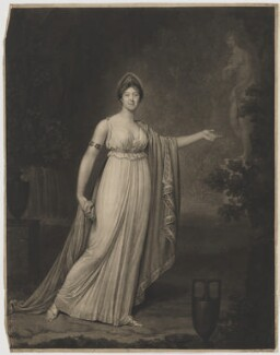 Rose Didelot, probably by Jean Condé, and by  Samuel William Reynolds, after  Charles Hénard - NPG D35180