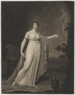 Rose Didelot, probably by Jean Condé, and by  Samuel William Reynolds, after  Charles Hénard - NPG D35181