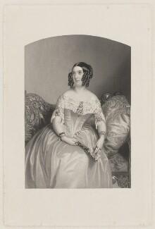 Elizabeth Anne Ella Digby (née Morse), by William Henry Mote, after  William Drummond - NPG D35185