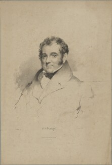Lewis Weston Dillwyn, by Maxim Gauci, printed by  Graf & Soret, published by  Colnaghi, Son & Co, after  Eden Upton Eddis, published 1833 - NPG D35187 - © National Portrait Gallery, London