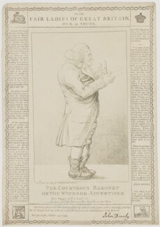 Sir John Dineley (né Dineley-Goodere), 5th Bt, printed and published by Charles Knight, after  Unknown artist - NPG D35189