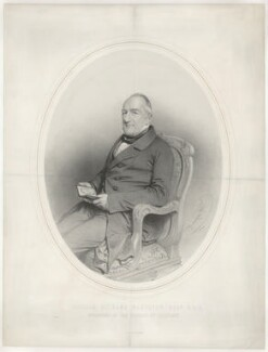 William Richard Hamilton, by Charles Baugniet, printed by  M & N Hanhart, published by  Hering & Remington - NPG D35281