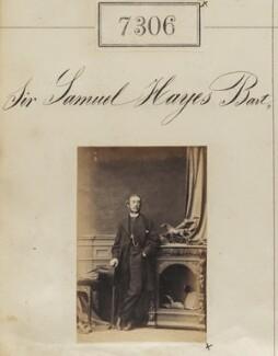 Sir Samuel Hercules Hayes, 4th Bt, by Camille Silvy - NPG Ax57217