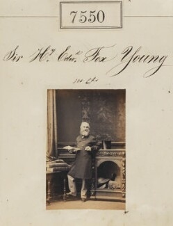 Sir Henry Edward Fox Young, by Camille Silvy - NPG Ax53374