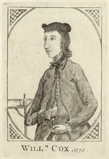 William Cox, after Unknown artist - NPG D20526