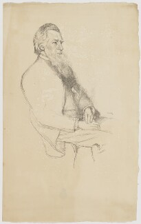 Richard Watson Dixon, by William Rothenstein - NPG D35194