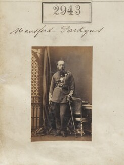 Mansfield Parkyns, by Camille Silvy - NPG Ax52342