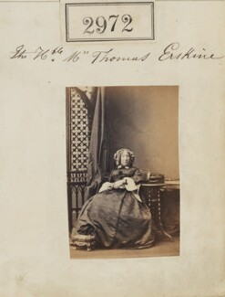 Charlotte Erskine (née Watson), by Camille Silvy - NPG Ax52370