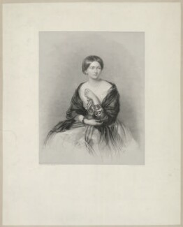 Princess Marie of Baden, Duchess of Hamilton, by Henry Thomas Ryall, after  James Rannie Swinton - NPG D35285