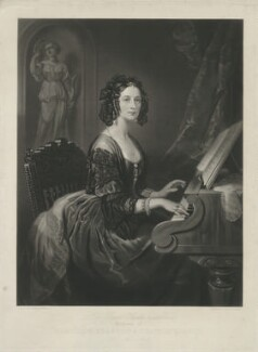 Susan Euphemia Douglas-Hamilton (née Beckford), Duchess of Hamilton, by Henry Cousins, after  Willis (Willes) Maddox - NPG D35287