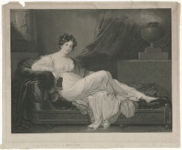 Susan Euphemia Douglas-Hamilton (née Beckford), Duchess of Hamilton, by H.S. Ball, after  James Godsell Middleton - NPG D35288