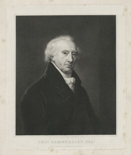 Thomas Hammersley, by and published by Richard Golding, after  Hugh Douglas Hamilton - NPG D35292