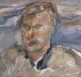 Ted Hughes, by Barrie Cooke - NPG 6871