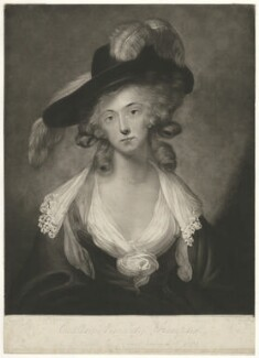 Katharine Mary Brand (née Montagu-Douglas-Scott), Viscountess Hampden, by John Young - NPG D35298