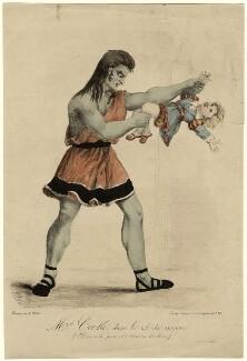 Mr Cook (Cooke), by A. Cheyère, probably after  Henri Daniel Plattel - NPG D17994