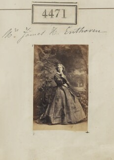Miriam Josephine Enthoven (née Mozley), by Camille Silvy, 18 June 1861 - NPG Ax54484 - © National Portrait Gallery, London