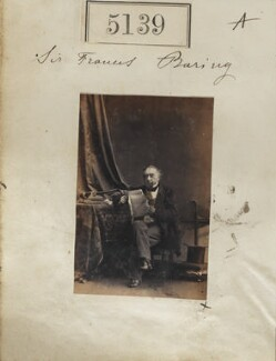Francis Thornhill Baring, 1st Baron Northbrook, by Camille Silvy, 23 July 1861 - NPG Ax55142 - © National Portrait Gallery, London