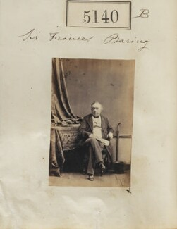 Francis Thornhill Baring, 1st Baron Northbrook, by Camille Silvy, 23 July 1861 - NPG Ax55143 - © National Portrait Gallery, London