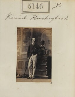 Edward George Henry Montagu, 8th Earl of Sandwich, by Camille Silvy - NPG Ax55149