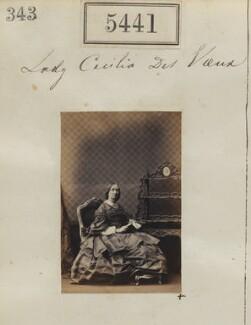 Lady Cecilia Des Voeux (née Paulet), by Camille Silvy - NPG Ax55401