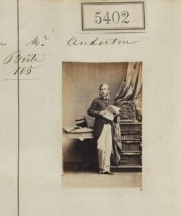 William Michael Ince Anderton, by Camille Silvy - NPG Ax55362