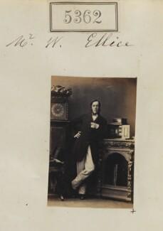 William Ellice, by Camille Silvy - NPG Ax55322