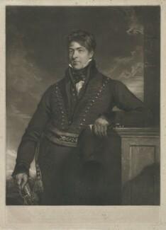 Joseph Hanson, by George Clint, after  Charles Allingham - NPG D35309