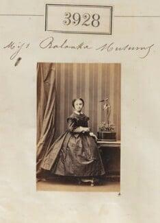 Ralouka ('Rachel') Bibesco-Bassaraba (née Musurus), Princess de Brancovan, by Camille Silvy, 25 May 1861 - NPG Ax53943 - © National Portrait Gallery, London