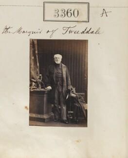 George Hay, 8th Marquess of Tweeddale, by Camille Silvy - NPG Ax52757