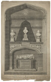 Harborough Monument, by James Basire, published by  John Nichols - NPG D35311