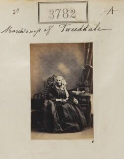 Susan Hay (née Montagu), Marchioness of Tweeddale, by Camille Silvy - NPG Ax53173