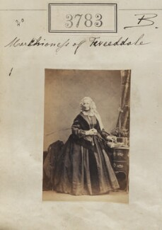 Susan Hay (née Montagu), Marchioness of Tweeddale, by Camille Silvy - NPG Ax53174
