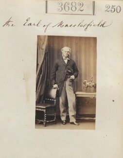 Thomas Augustus Wolstenholme Parker, 6th Earl of Macclesfield, by Camille Silvy - NPG Ax53078