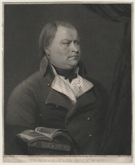 Thomas Clio Rickman, by James Holmes, published by  Thomas Clio Rickman, after  John Hazlitt - NPG D35195
