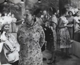 Helena Rubinstein, by Ida Kar, 1940s - NPG x132734 - © National Portrait Gallery, London