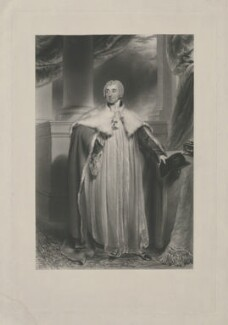 Edward Venables Vernon Harcourt, by George Henry Phillips, published by  Hodgson & Graves, after  Sir Thomas Lawrence - NPG D35315