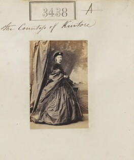 Louisa Madaleine (née Hawkins), Countess of Kintore, by Camille Silvy - NPG Ax52834