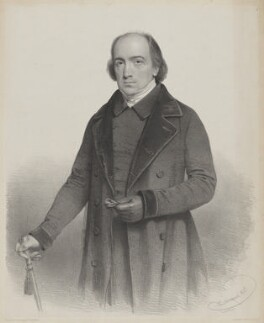 Joseph Penuel Dobson, by Charles Baugniet, printed by  Day & Haghe, published by  Joseph Hogarth - NPG D35332