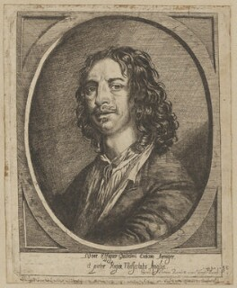 William Dobson, by Josias English, after  William Dobson - NPG D35333
