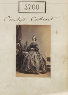 Elizabeth Mary (née Crompton), Countess Cathcart, by Camille Silvy - NPG Ax53096