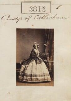 Caroline Elizabeth Pepys (née Wingfield), Countess of Cottenham, by Camille Silvy - NPG Ax53203