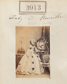 Lady Dorothy Fanny Nevill (née Walpole), by Camille Silvy - NPG Ax53928