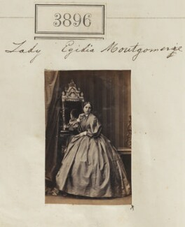 Egidia (née Montgomerie), Lady Rendlesham, by Camille Silvy - NPG Ax53281