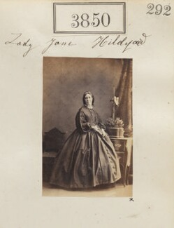 Lady Jane Hildyard (née Townshend), by Camille Silvy - NPG Ax53241