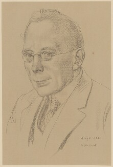 Campbell Dodgson, printed by Oxford University Press, after  Randolph Schwabe - NPG D35339