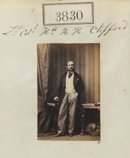 Sir Henry Hugh Clifford, by Camille Silvy - NPG Ax53221