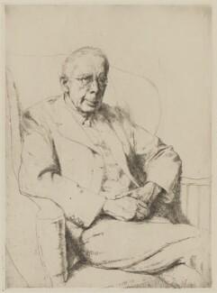 Campbell Dodgson, by Hubert Andrew Freeth - NPG D35341