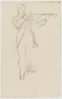 Arnold Dolmetsch, by William Rothenstein - NPG D35344