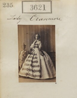 Christina (née Guthrie), Lady Oranmore and Browne, by Camille Silvy - NPG Ax53017